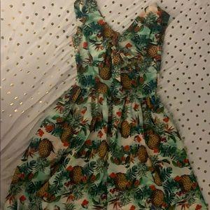 Tropical Fruit Dress